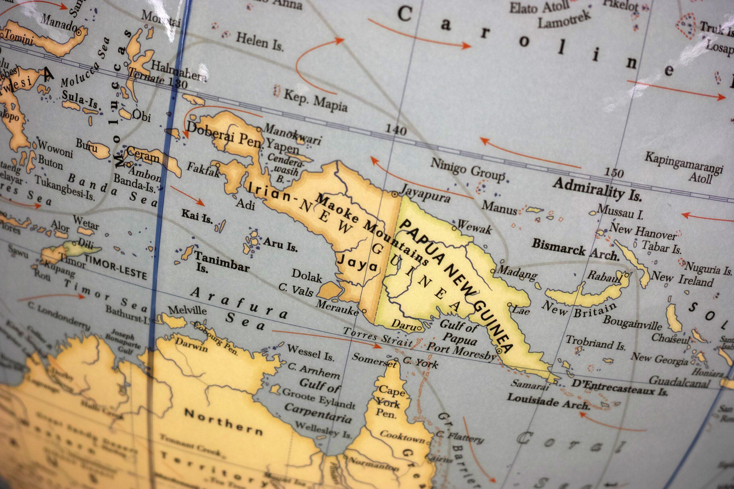 Papua New Guinea on a Glo